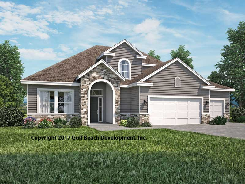 Two story house plans florida gast team for Two story florida house plans
