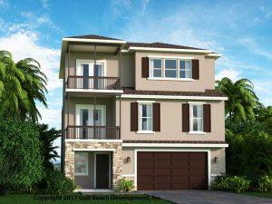 Dolphin Bay Coastal House Plan