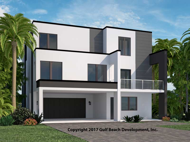 Island Bay Coastal House Plan