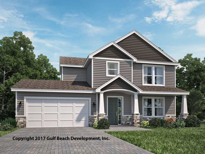 Springfield two story house plan