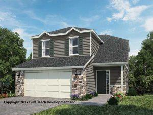 Hunter Florida two story house plan
