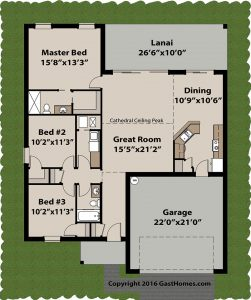 Spring Ridge ICF home plans Floor plan